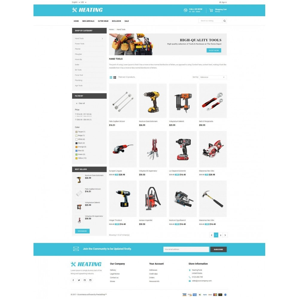 theme - Auto & Moto - HeatingTools - 3