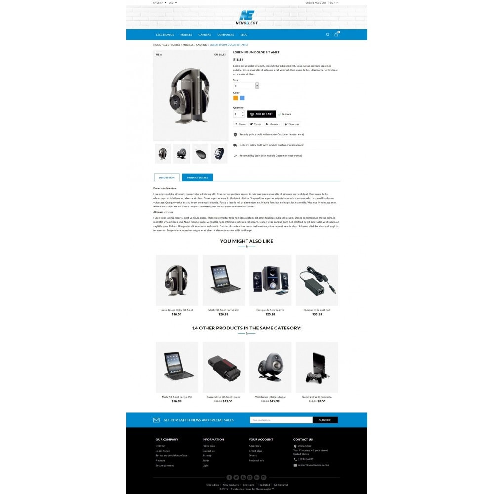 theme - Elettronica & High Tech - NenoElect - All Electronics Store - 6