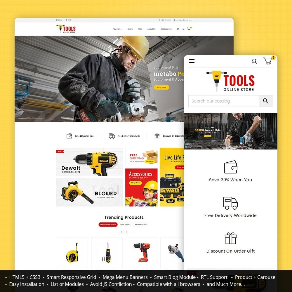 theme - Auto & Moto - Tools Store - 1