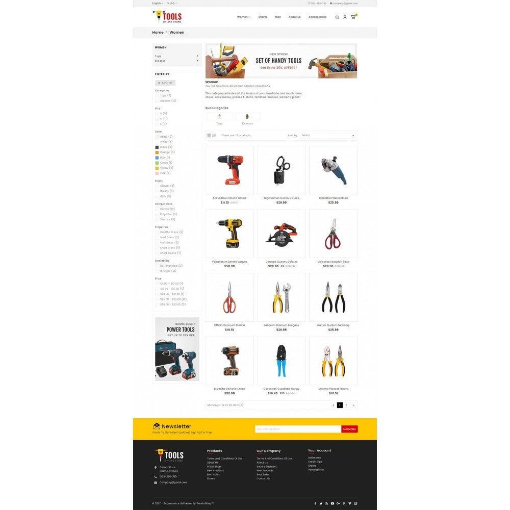theme - Coches y Motos - Tools Store - 3