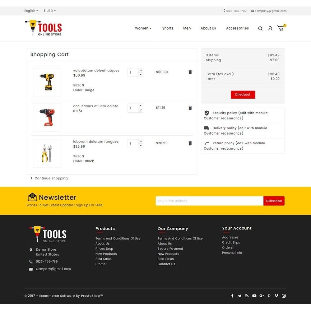 theme - Automotive & Cars - Tools Store - 6