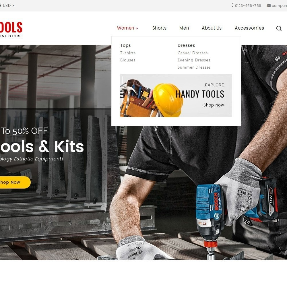 theme - Coches y Motos - Tools Store - 9