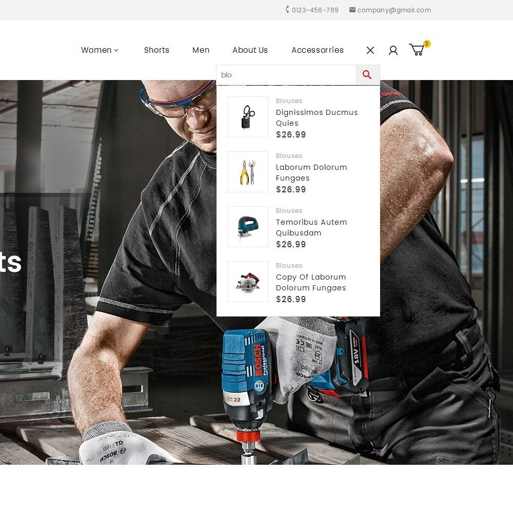 theme - Automotive & Cars - Tools Store - 10