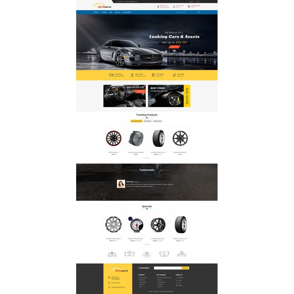 theme - Automotive & Cars - Auto Parts - 2