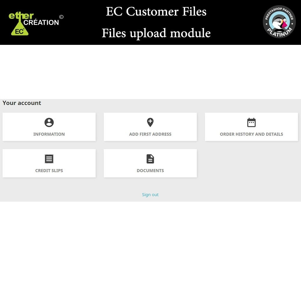 module - Klantenservice - Provision of files for customers - 9