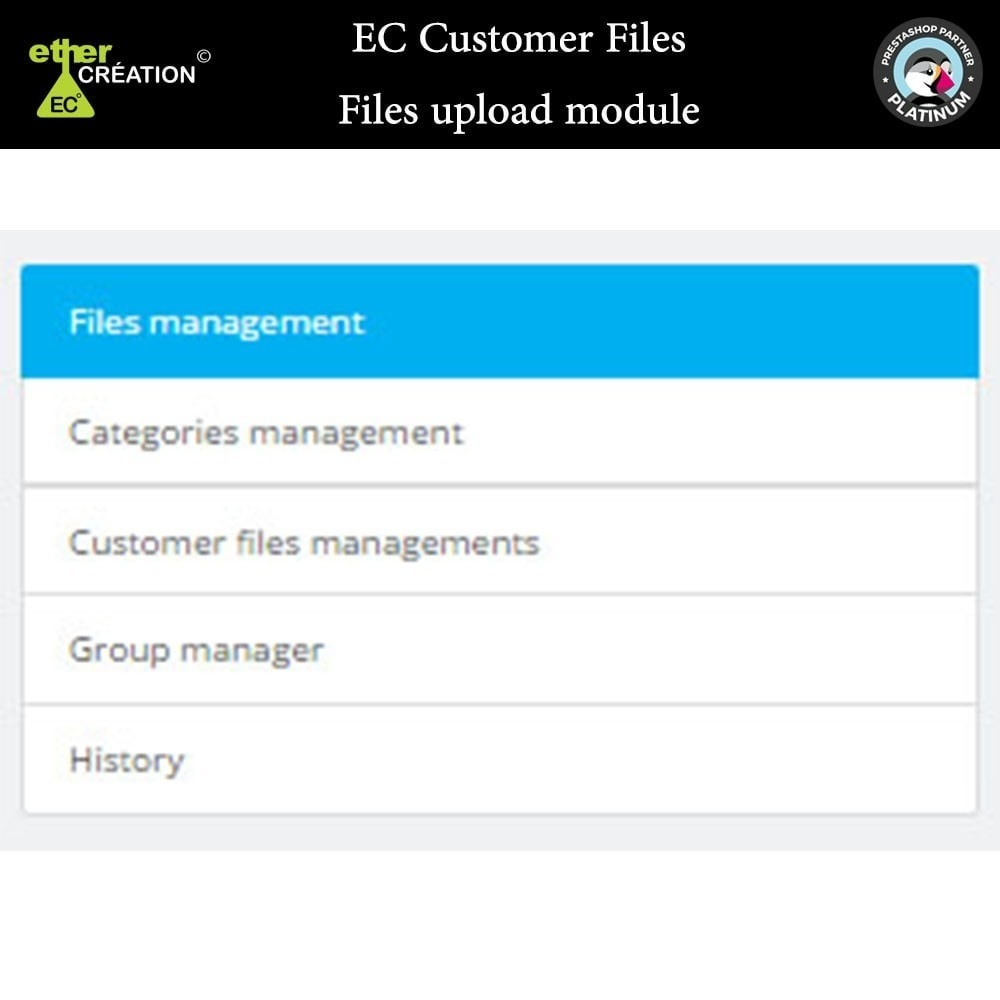 module - Klantenservice - Provision of files for customers - 12