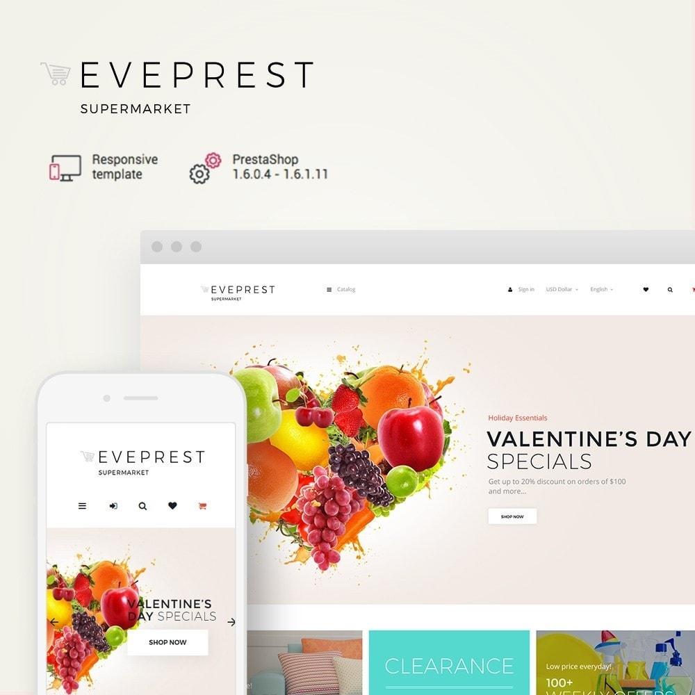 theme - Продовольствие и рестораны - EvePrest Supermarket - Supermarket Online Store - 2