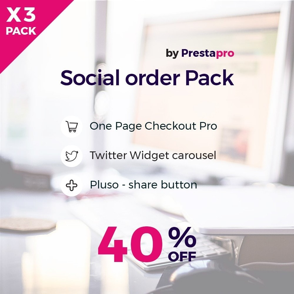 pack - Processus rapide de commande - Social and Quick order Pack - 1