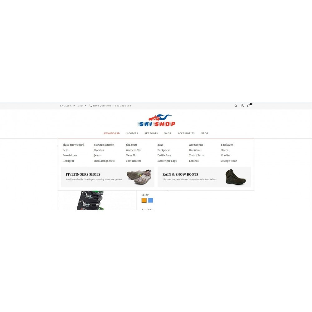 theme - Sports, Activities & Travel - Skishop - Online Ski Store - 9