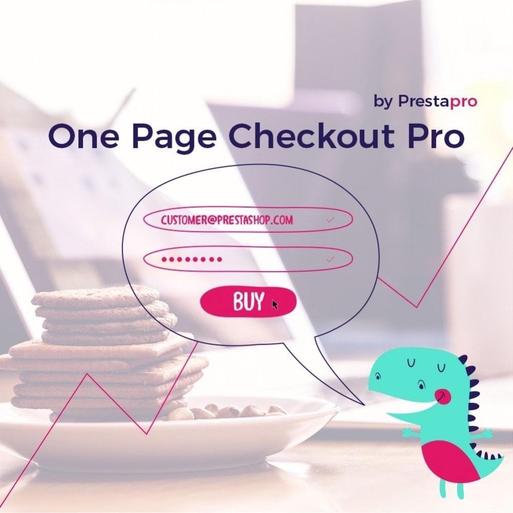 module - Express Checkout Prozesse - One Page Checkout Pro Version - 2