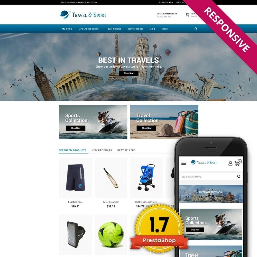 theme - Desporto, Actividades & Viagens - Travelsport - 1