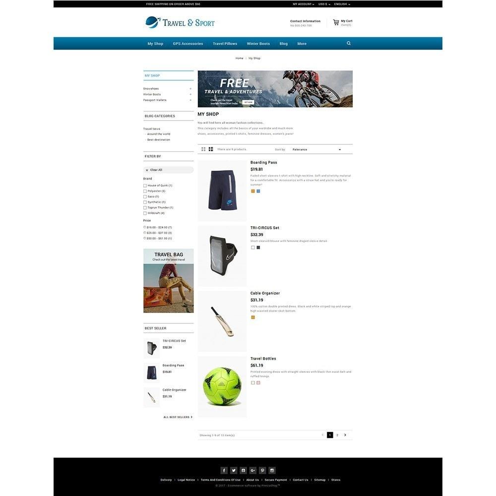 theme - Desporto, Actividades & Viagens - Travelsport - 4