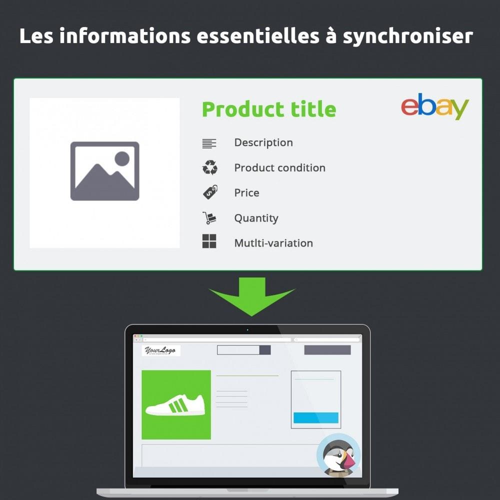 module - Marketplaces - Import eBay, le module essentiel au module eBay - 3