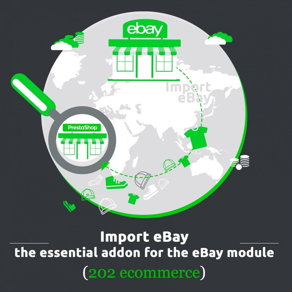 module - Marketplaces - Import eBay, the essential addon for the eBay module - 1