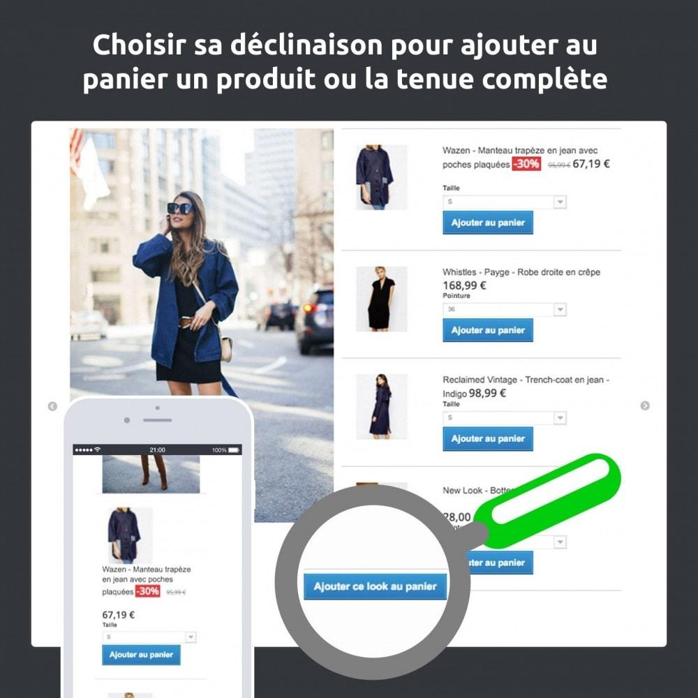 module - Visuels des produits - Lookbook - Animez votre catalogue (mode, déco…) - 2