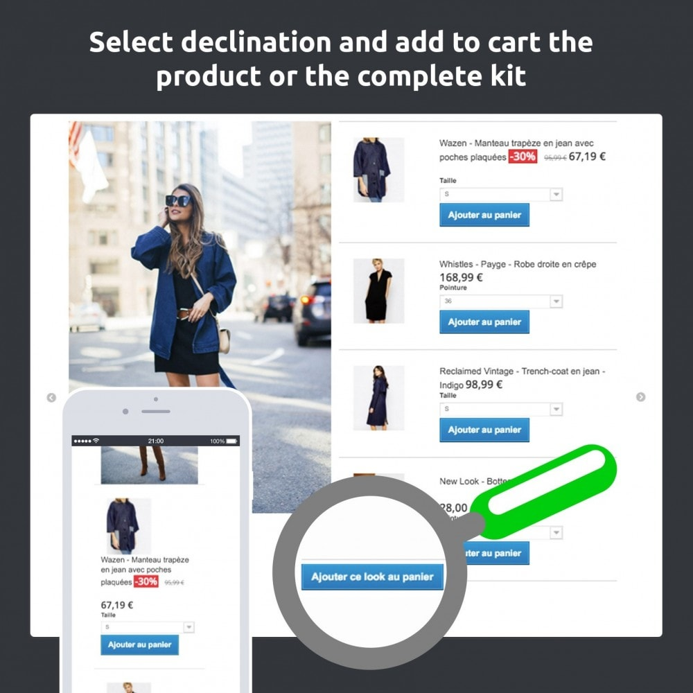 module - Показ товаров - Lookbook - Staging your catalog (fashion, deco…) - 2