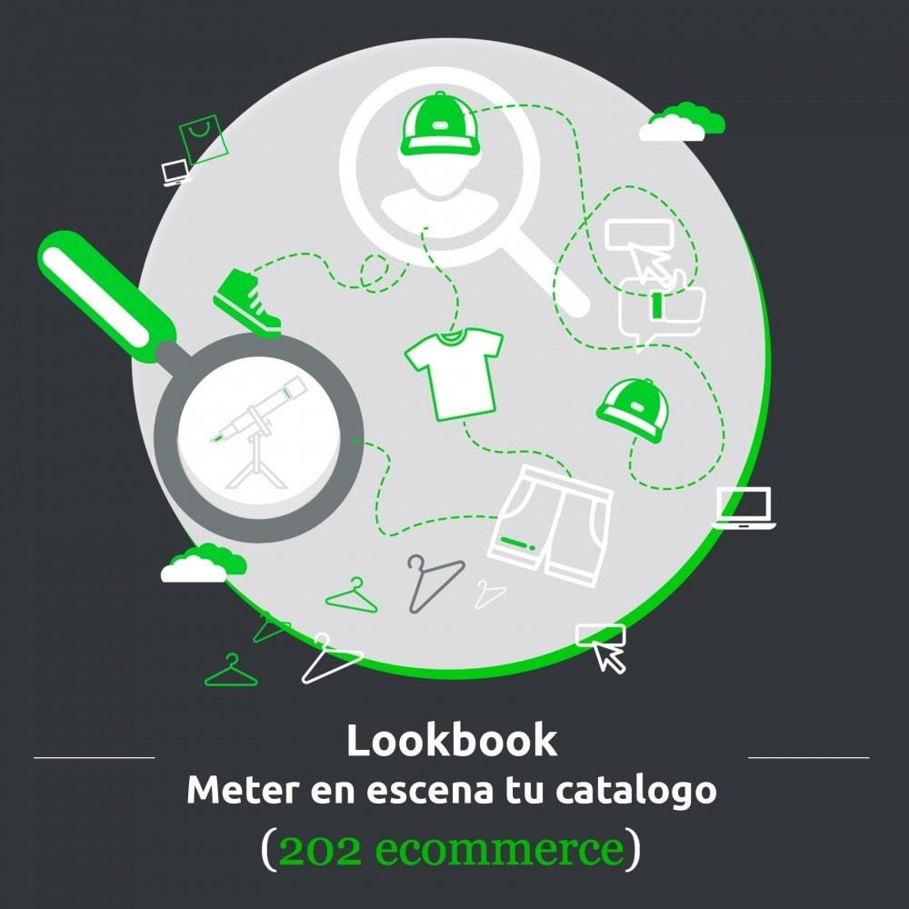 module - Fotos de productos - Lookbook, meter en escena tu catalogo (déco, modo…) - 1