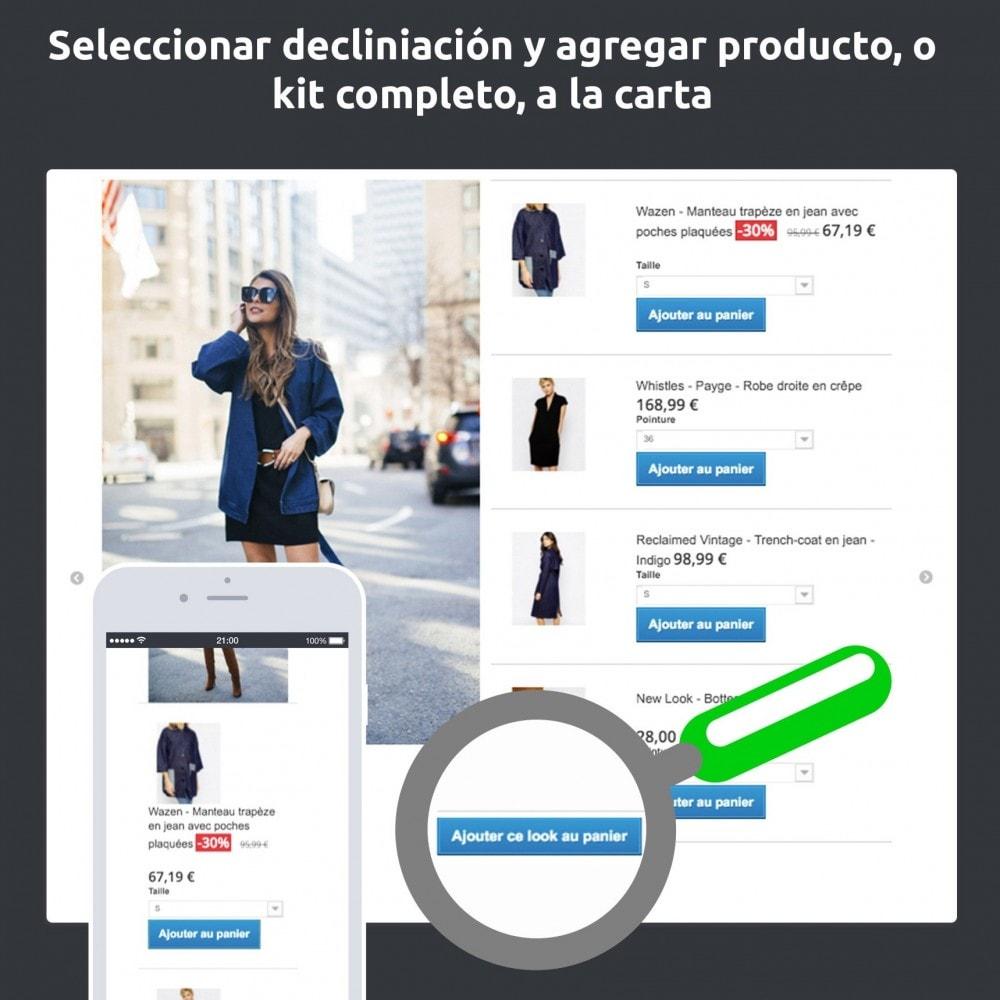 module - Fotos de productos - Lookbook, meter en escena tu catalogo (déco, modo…) - 2