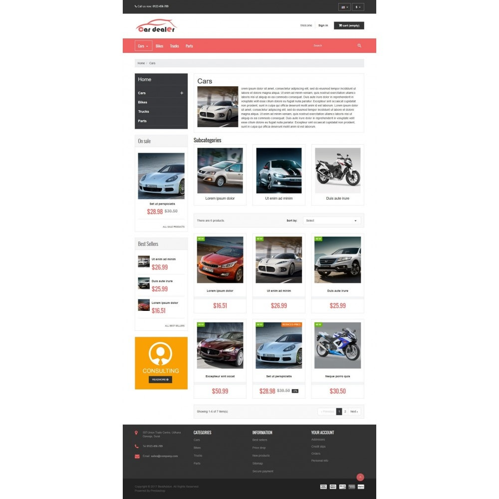 theme - Auto & Moto - VP_CarDealer Store - 3