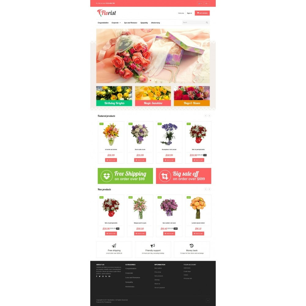 theme - Regali, Fiori & Feste - VP_Florist Store - 2