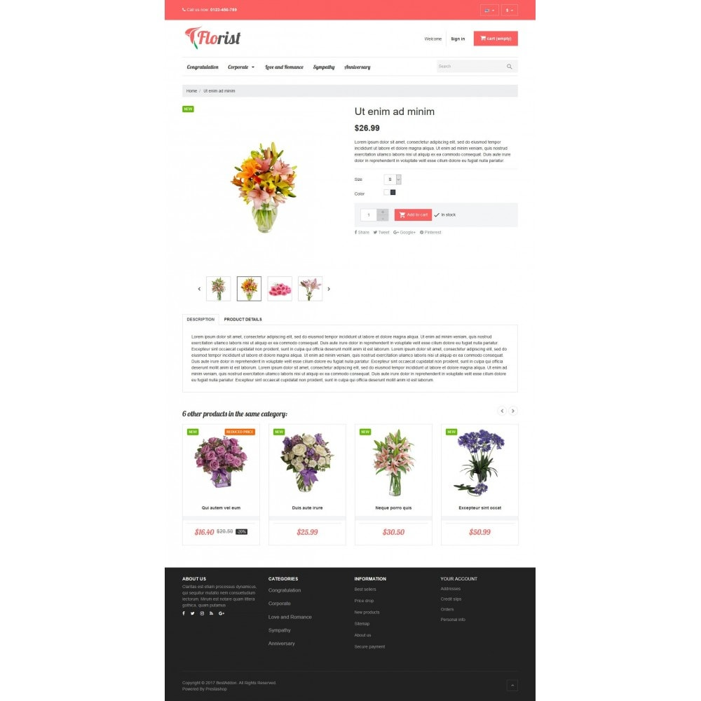 theme - Regali, Fiori & Feste - VP_Florist Store - 4