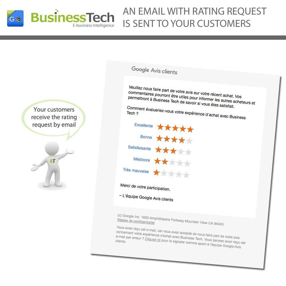 module - Programmi fedeltà & Affiliazione - Google Customer Reviews - 5