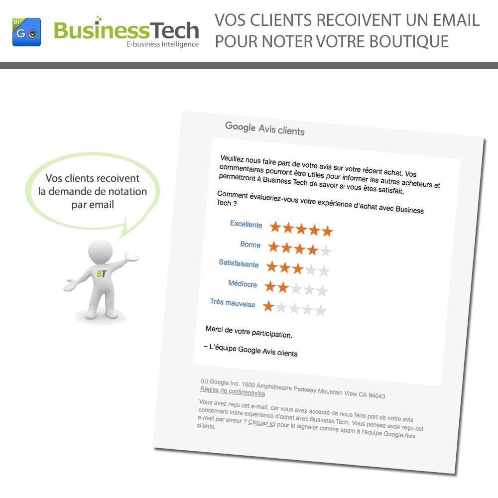 module - Fidélisation & Parrainage - Google Customer Reviews - 5