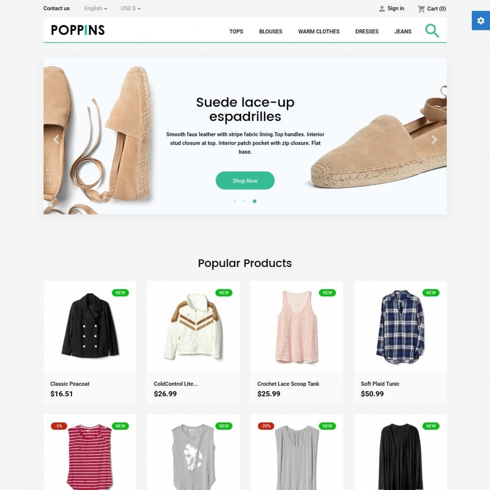 theme - Mode & Chaussures - Poppins Fashion Store - 2