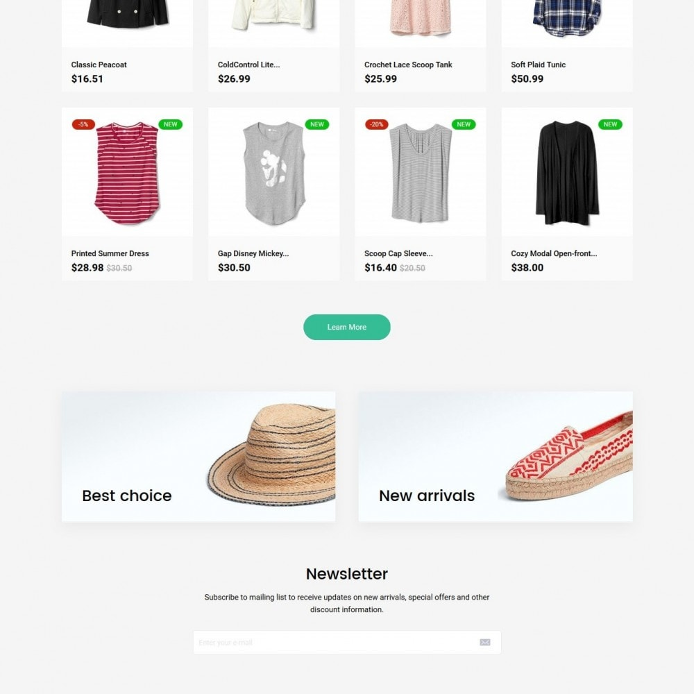 theme - Mode & Chaussures - Poppins Fashion Store - 3