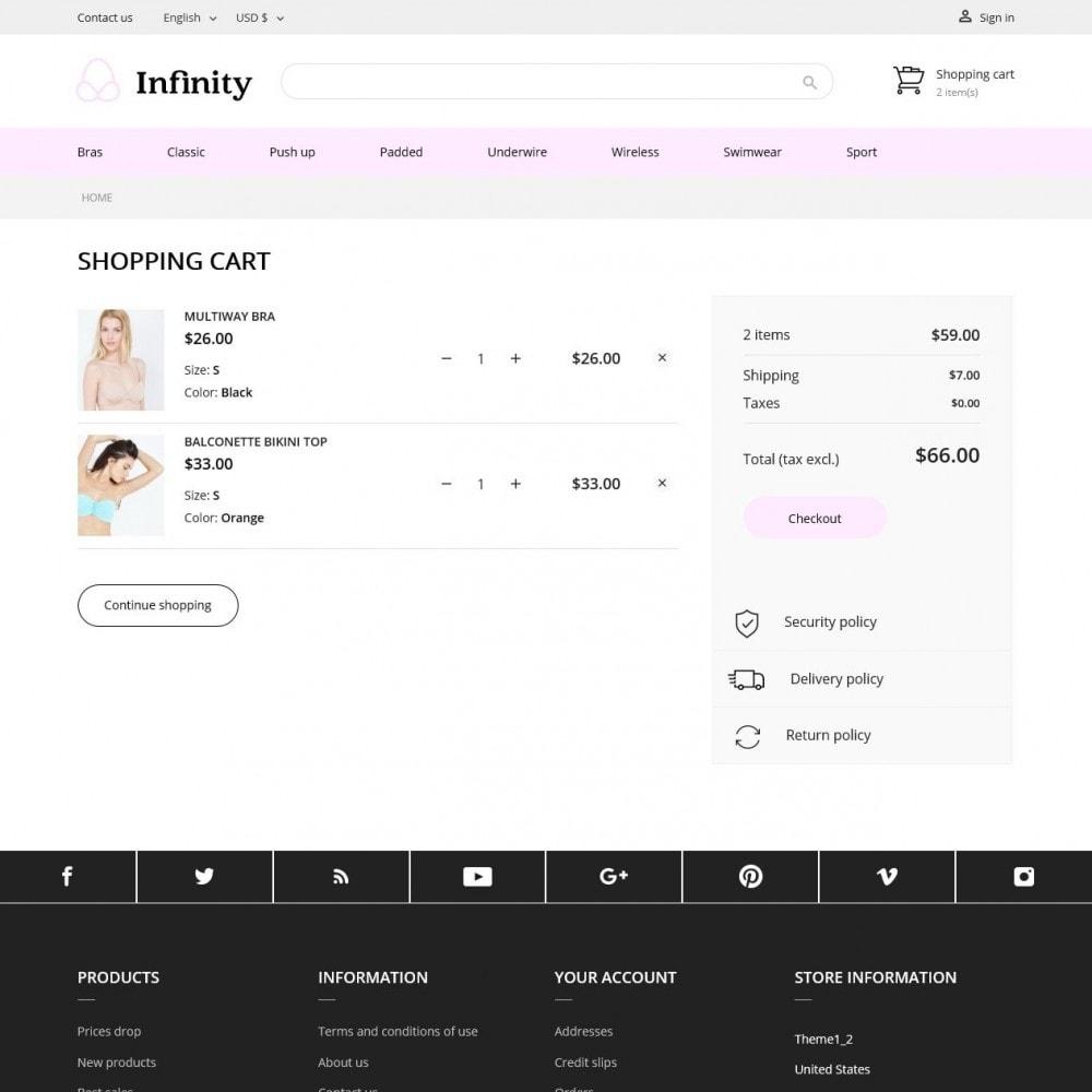 theme - Bielizna & Dorośli - Infinity Lingerie Shop - 8