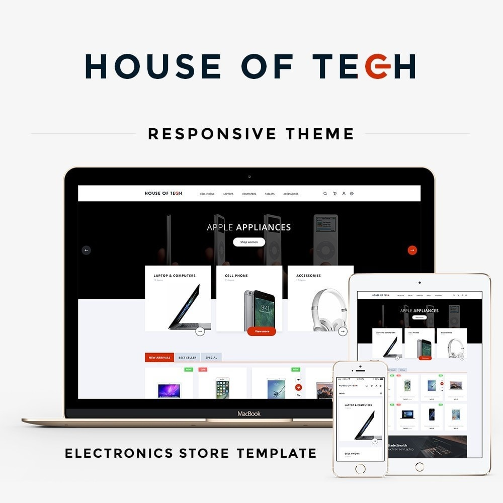 theme - Elettronica & High Tech - House of tech - High-tech Shop - 1