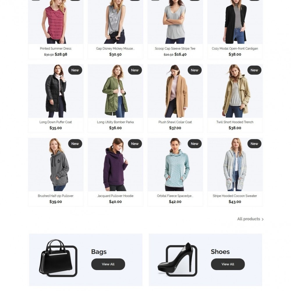 theme - Мода и обувь - Aria Fashion Store - 3