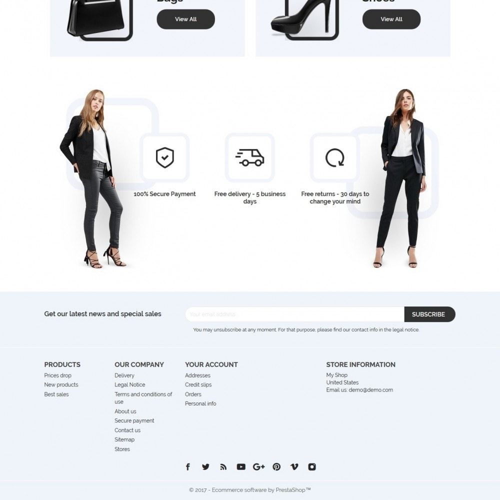 theme - Мода и обувь - Aria Fashion Store - 4
