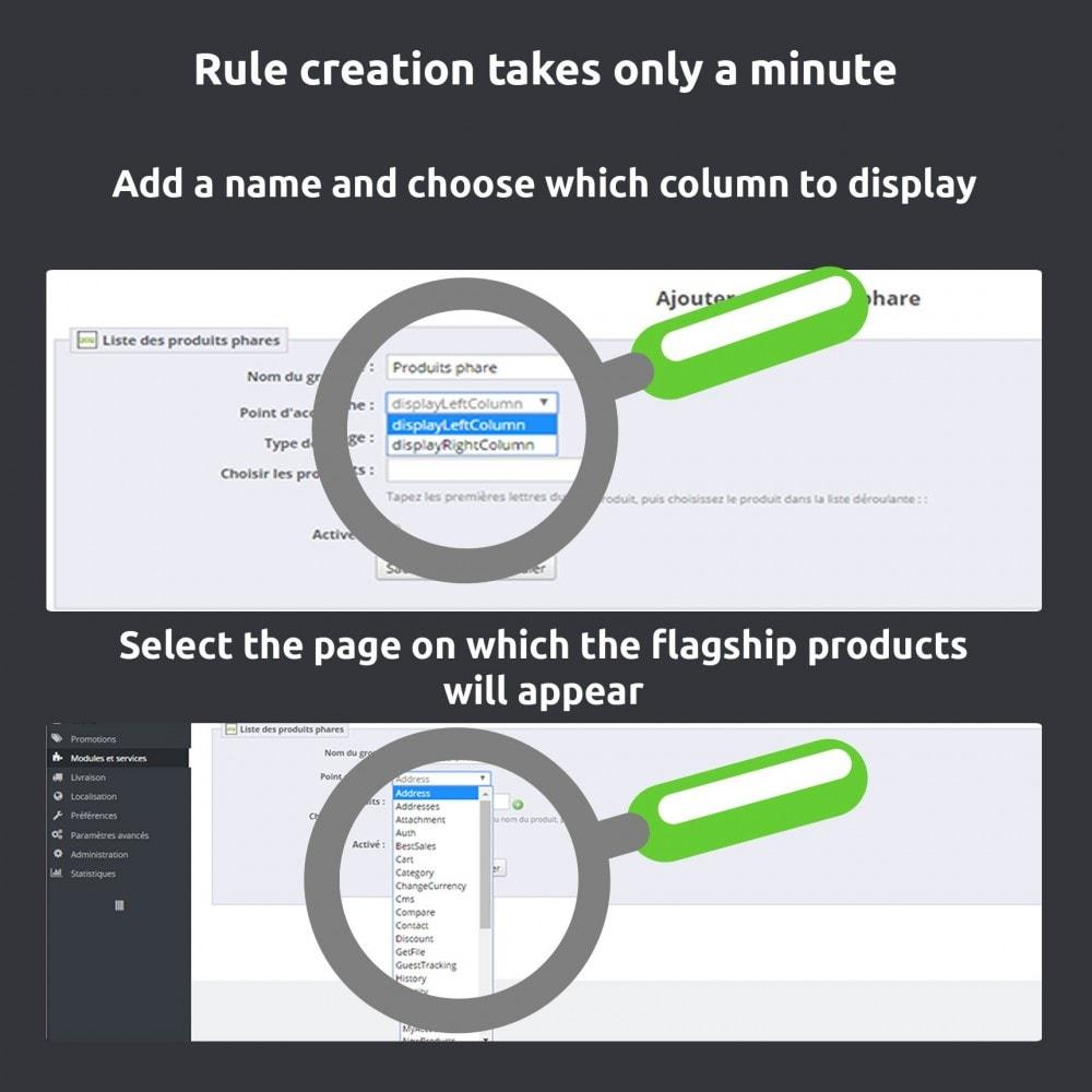 module - Zarządzanie produktami na stronie głównej - Showcasing product (Featured product) - 4