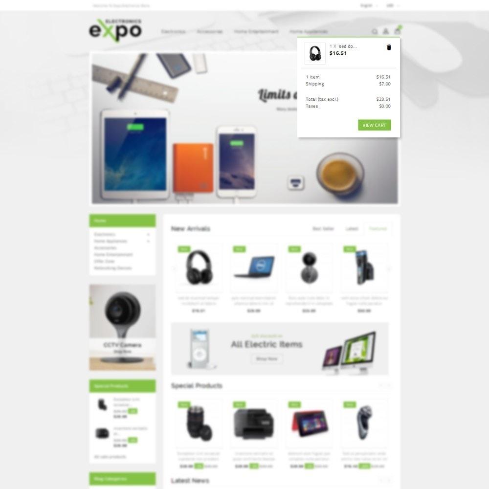 theme - Electronique & High Tech - Expo Electronics Store - 7