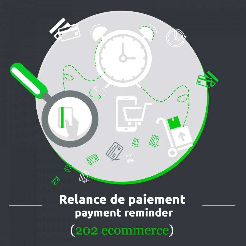module - E-mails & Notifications - Relance de paiement / payment reminder - 1
