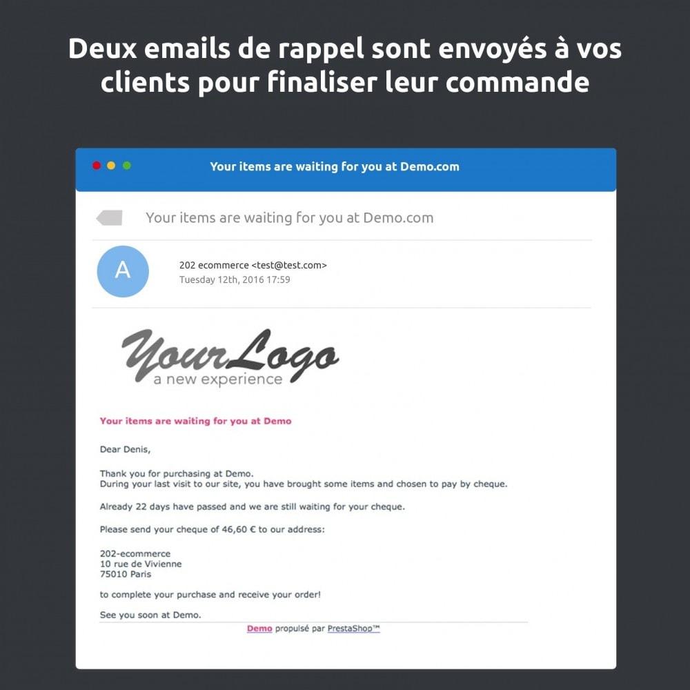 module - E-mails & Notifications - Relance de paiement / payment reminder - 2