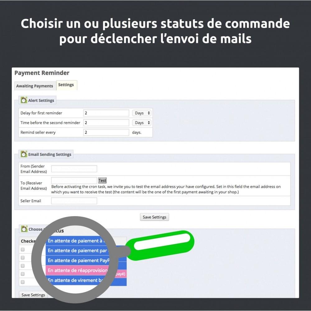 module - E-mails & Notifications - Relance de paiement / payment reminder - 7