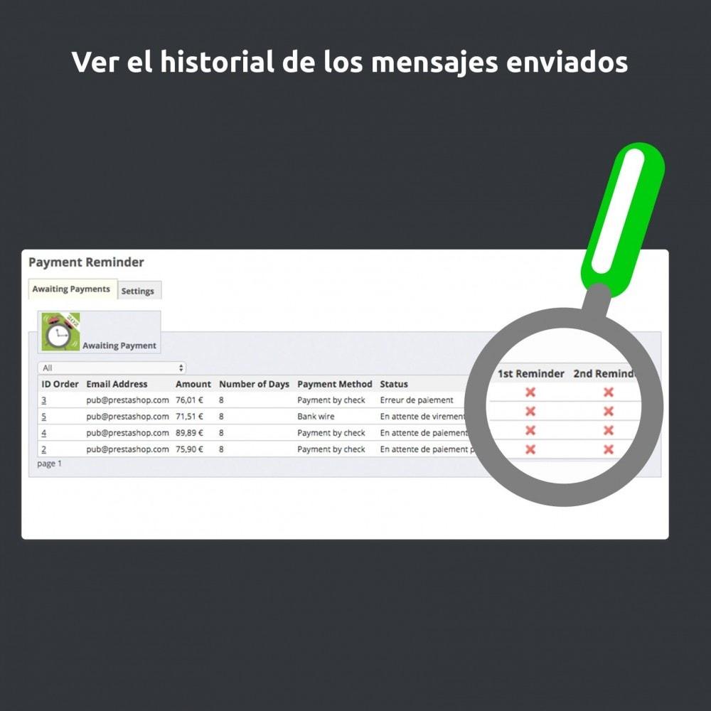 module - E-mails y Notificaciones - Recordatorio de pago - 4