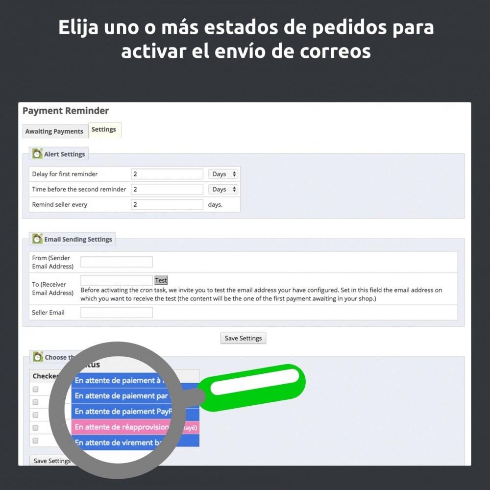 module - E-mails y Notificaciones - Recordatorio de pago - 7