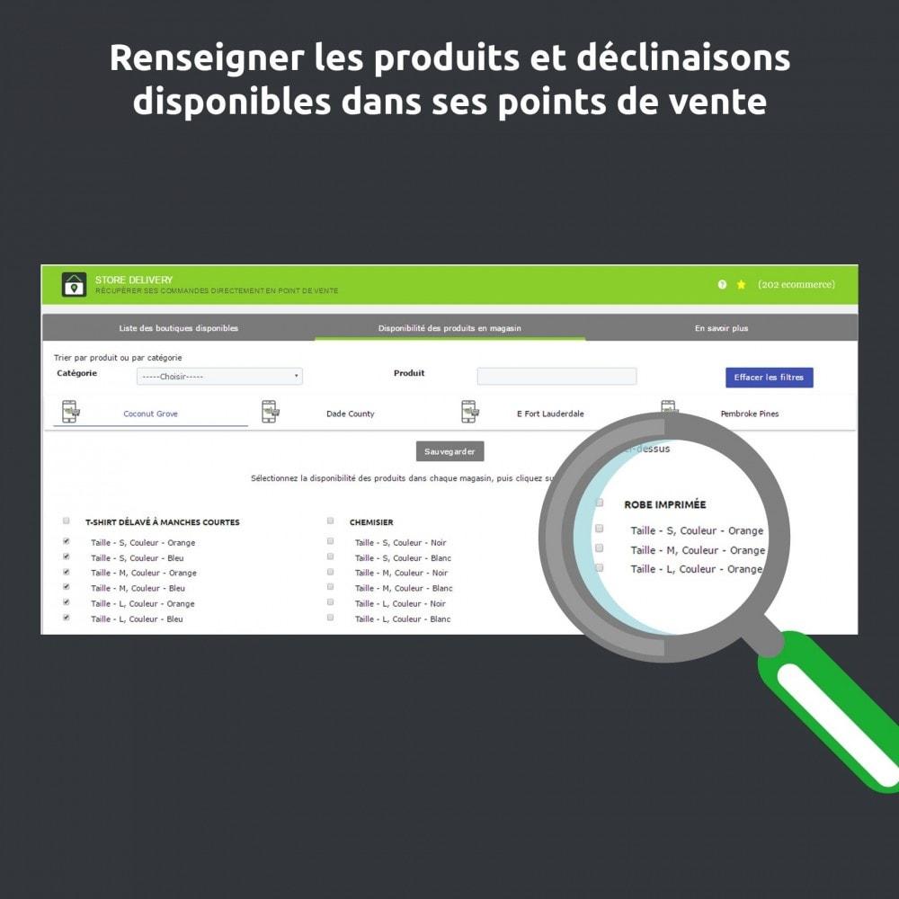 module - Point Relais & Retrait en Magasin - Store Delivery : Disponibilité et livraison en magasin - 6
