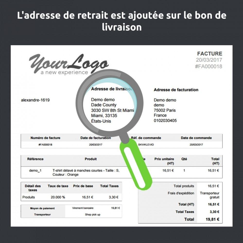 module - Point Relais & Retrait en Magasin - Store Delivery : Disponibilité et livraison en magasin - 8