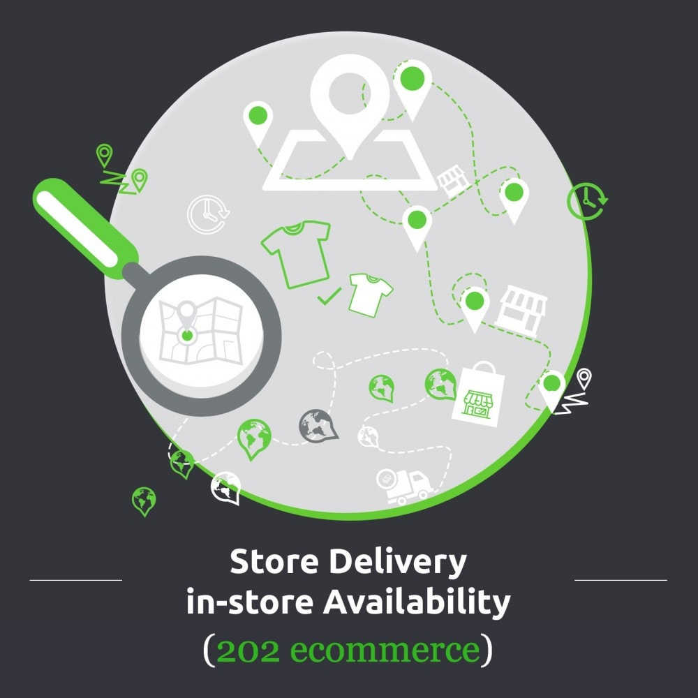 module - Punto di raccolta & Ritiro in negozio - Store Delivery: In-store Availability, Pickup at Store - 1
