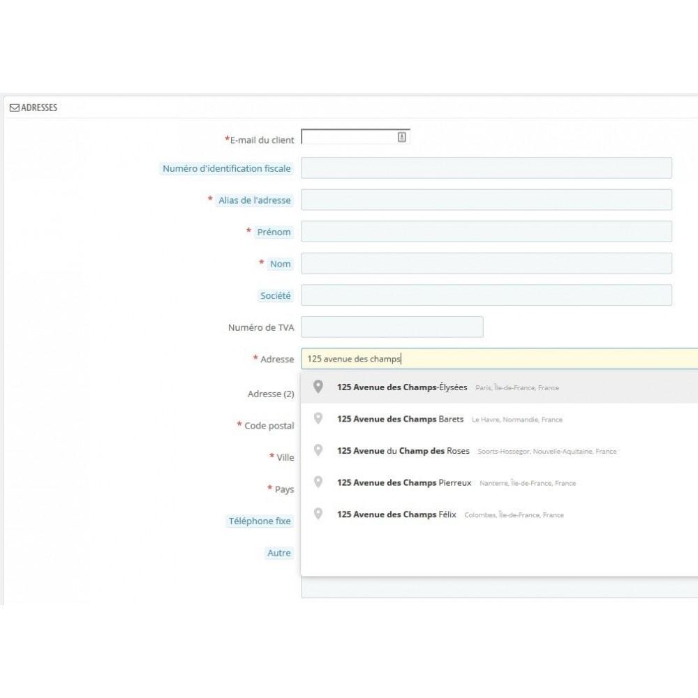module - Internationaal & Lokalisatie - Address Autocomplete - 3