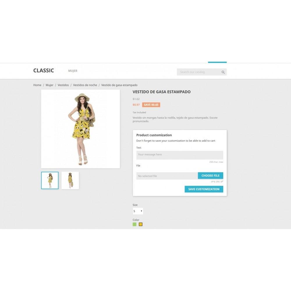 module - Combinaciones y Personalización de productos - Massive Custom Fields Evolution - 2