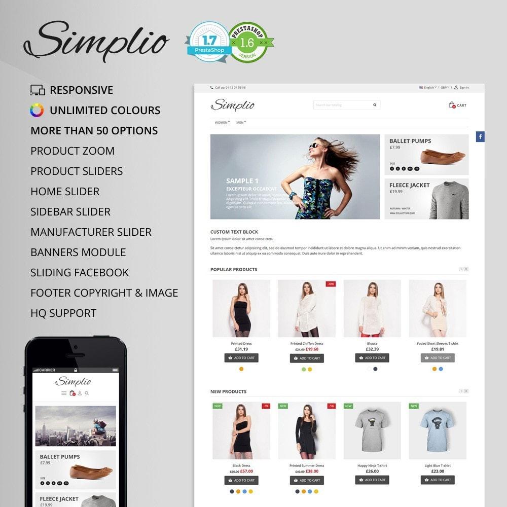 theme - Moda & Obuwie - Simplio - 1