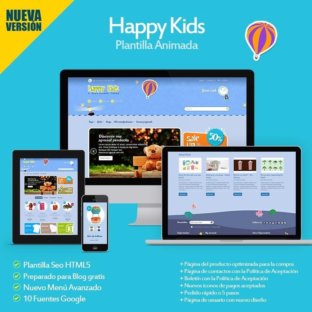 theme - Niños y Juguetes - Happy Kids - 1
