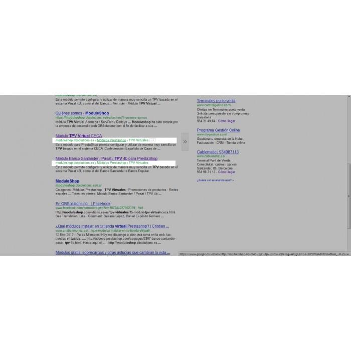 module - SEO (Pozycjonowanie naturalne) - Google Rich Snippets Breadcrumbs [schema.org markup] - 2