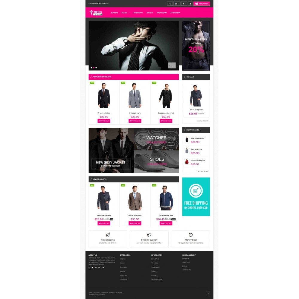 theme - Mode & Schuhe - VP_Men Store - 2