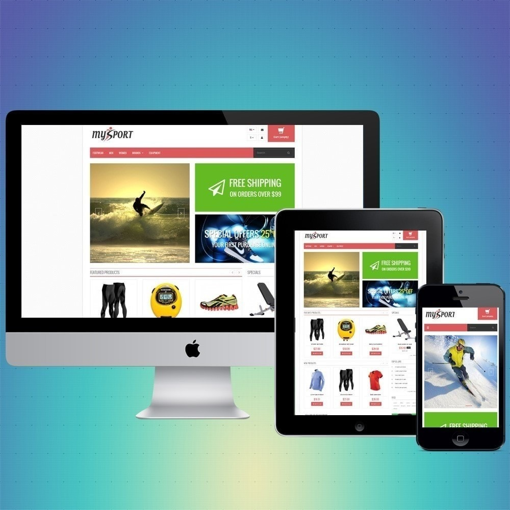 theme - Спорт и Путешествия - VP_MySport Store - 1